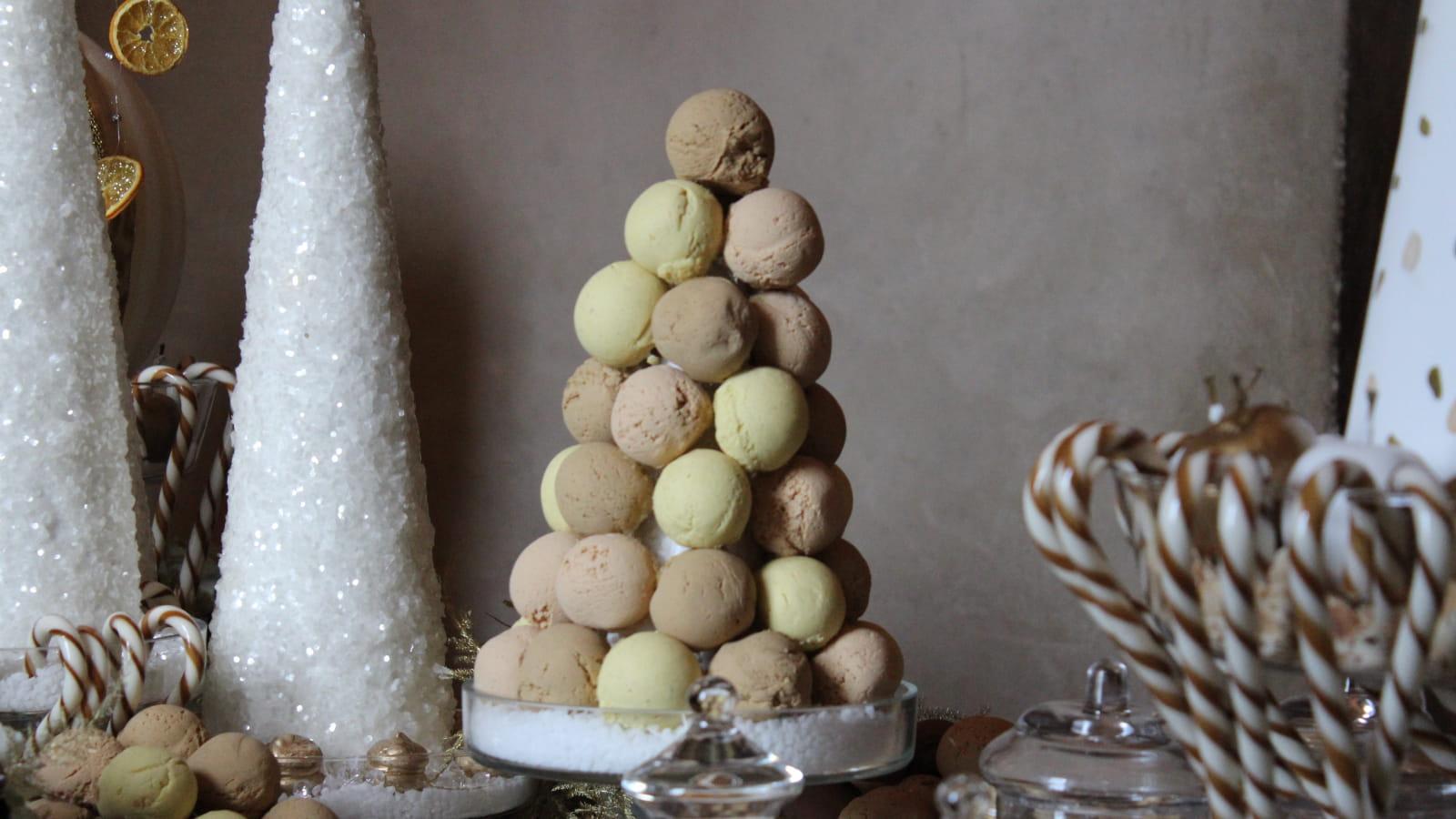 Noël au Pays des Châteaux, dessert givré