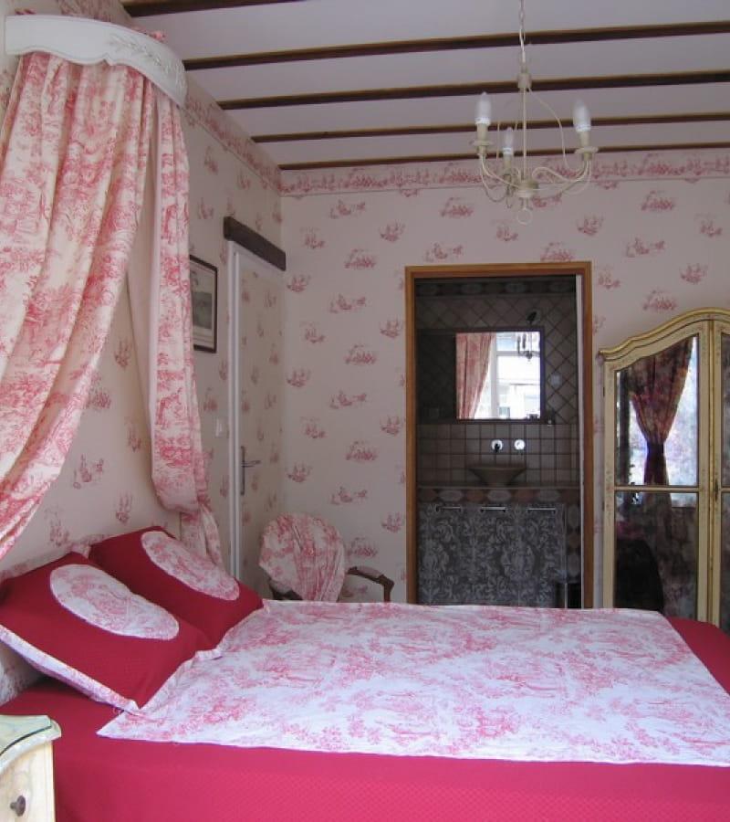 Chuchotière chambre rose