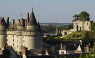 Vue panoramique sur le Château de Langeais