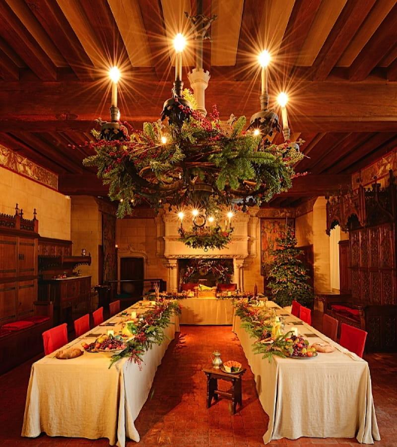 Trésors de Noël - Château de Langeais