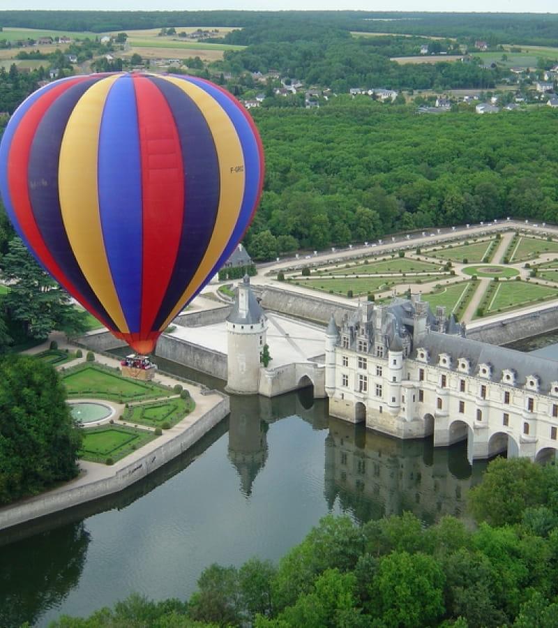 france montgolfiere chenonceau 1